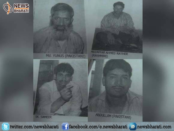Three LeT terrorists sentenced to death over waging a war against India