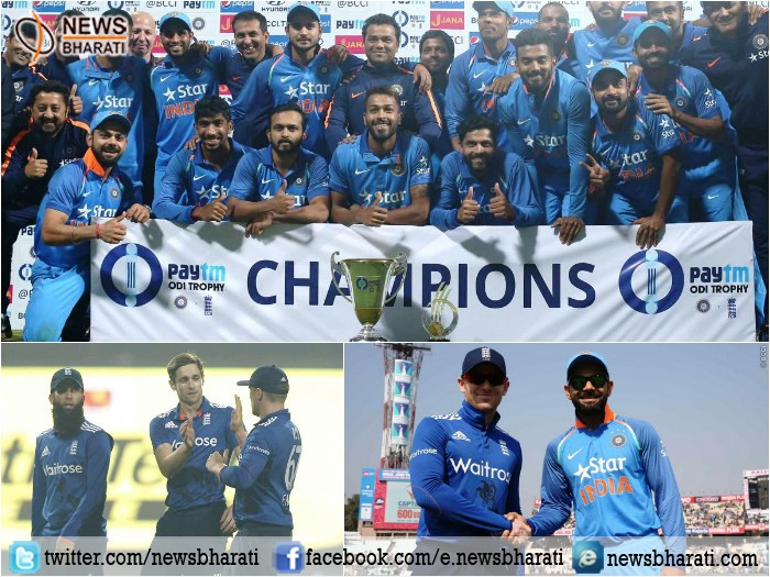 England beats India in third ODI match by 5 runs; India bags series by 2-1