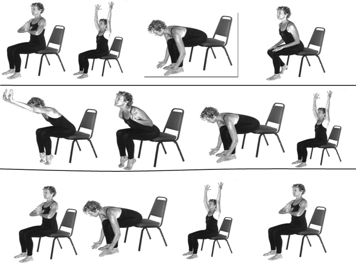 Chair yoga helpful for elderly persons, reveals study