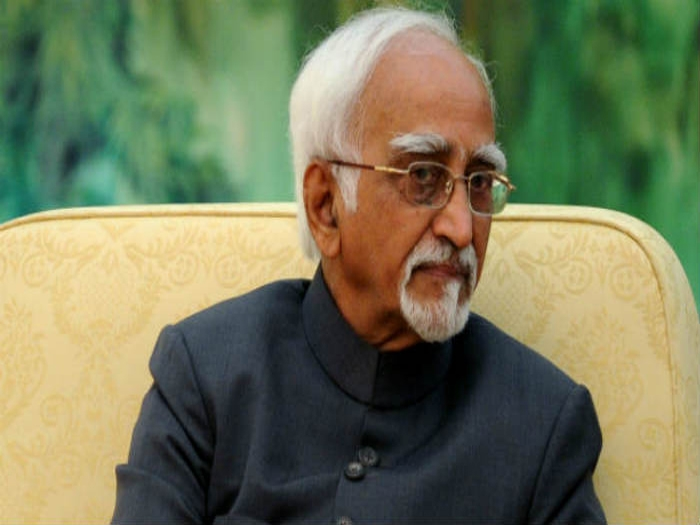 Vice-President Hamid Ansari greets citizens on the eve Republic Day