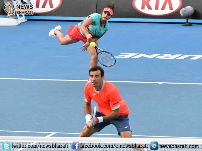 Australian Open: Sania Mirza-Ivan Dodig swiftly enters into semifinals