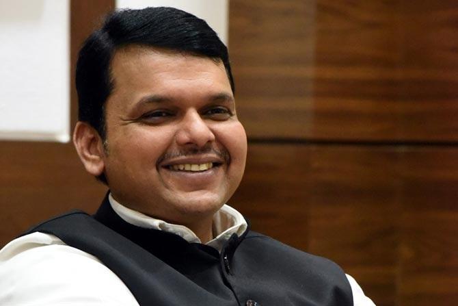 Maharashtra CM Devendra Fadnavis goes online,  Addresses rally of North Indians from Delhi