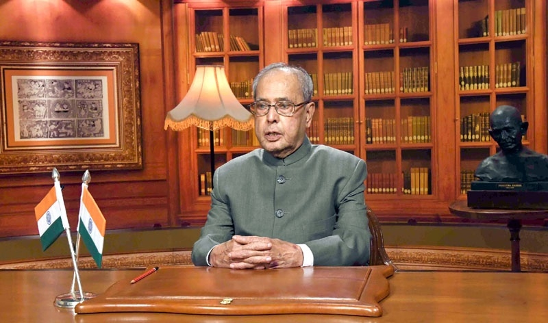 Strength of India lies in the spirit of democracy : President Mukherjee