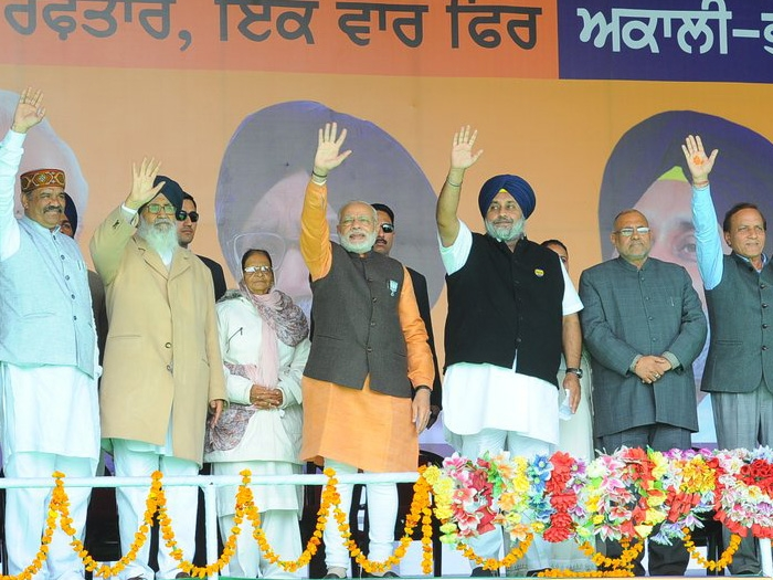 Punjab shares its border with Pakistan; elect Govt that is concerned about security of nation: PM Modi