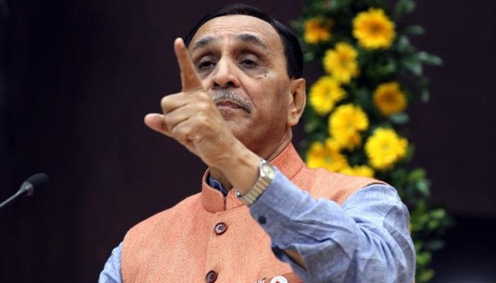 Gujarat Chief Minister Vijay Rupani hits out at congress for spreading rumour