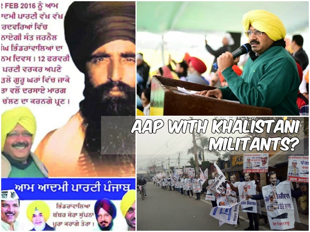 Kejriwal's alleged Khalistan connection becoming a growing matter of concern for national security