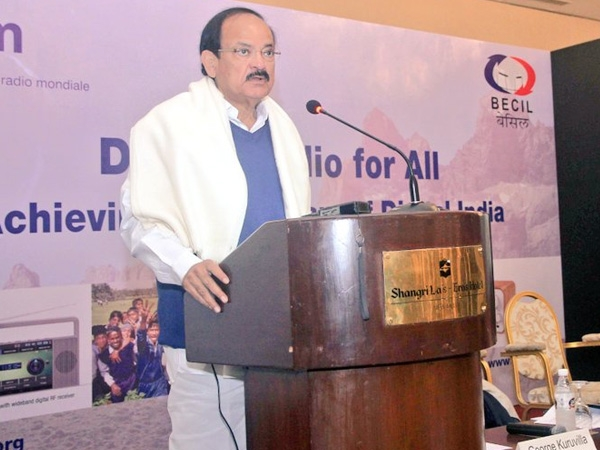 Digital Radio Technology empowers listeners with wide range of services: Venkaiah Naidu