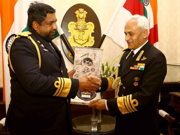 Sri Lankan Admiral visits India to consolidate bilateral naval relations between both nations