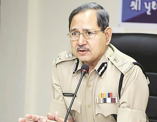 Gujarat DGP P P Pandey gets extension of three-month from center