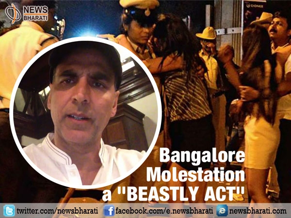 Enraged Akshay Kumar calls #BangaloreMolestation a 'beastly act'