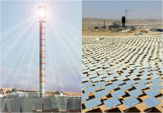 Israel's Ashalim Tower to set goals for the whole world to produce clean solar energy