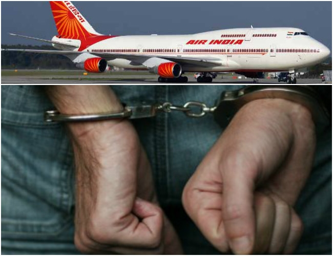 Air India will use Hand-cuffs to control errant flyers for the safety of aircraft