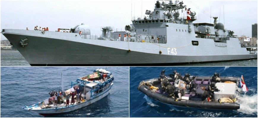 News Bharati - Brave Indian Navy thwarts pirate attack in