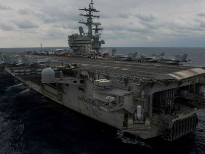 US Navy Aircraft with 11 crew members crashes in Philippine Sea; Eight personnel recovered