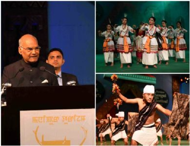 Inaugurating Manipur Sangai Festival, Prez Kovind says Manipur is India's window to South East Asian countries
