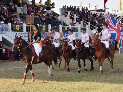 International Polo Tournament 2017 kicks off on the oldest Polo ground of Manipur