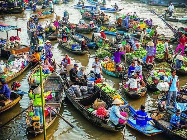 floating market india