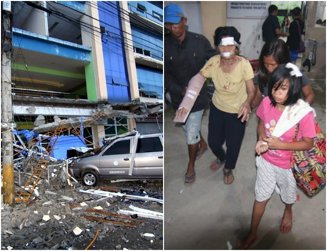 6.5 Magnitude Earthquake hits Philippines injures more than 100