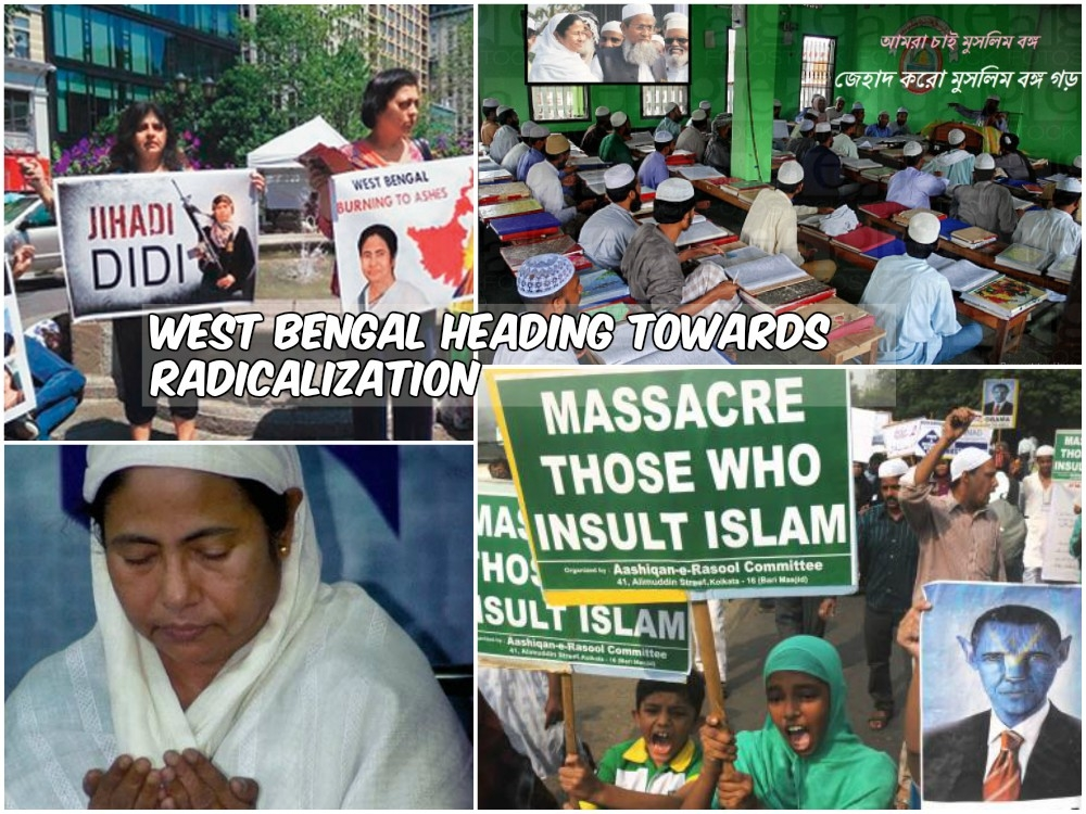 Under Mamata's patronage, West Bengal methodically heading towards Jihadi radicalization