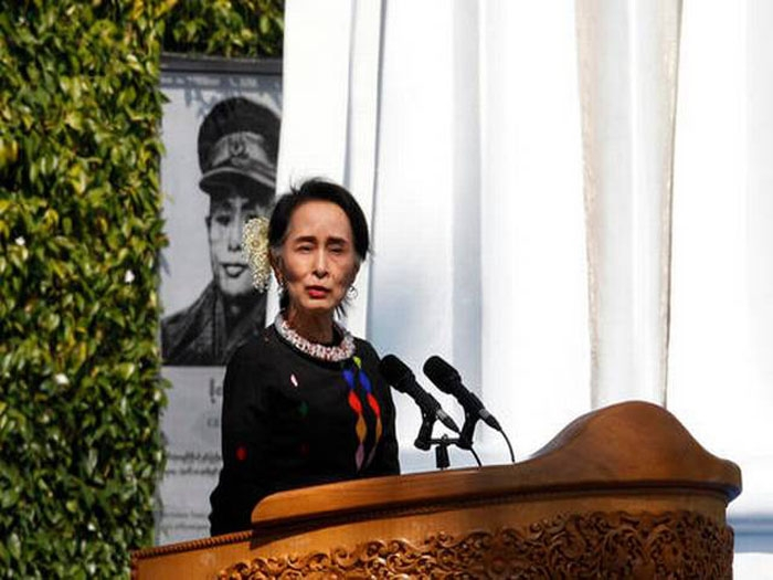 Suu Kyi appeals to ethnic groups to sign ceasefire pact, join peace initiative