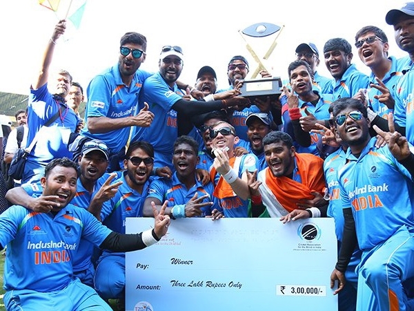 India beat Pakistan by 9 wickets to win T20 Blind World Cup