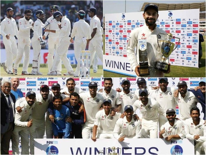 India registers comprehensive win against Bangladesh in one off test; wins series