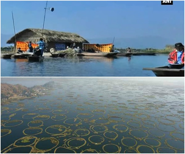 India's first floating school in Loktak Lake of Manipur aims to provide education