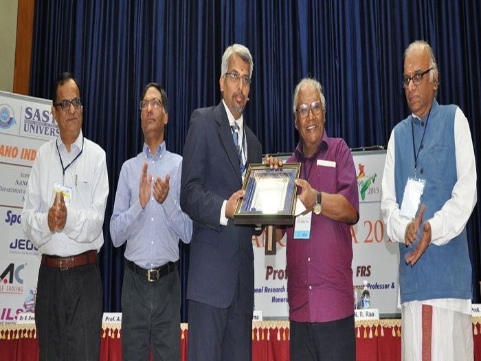 Swaminathan honoured with annual prize