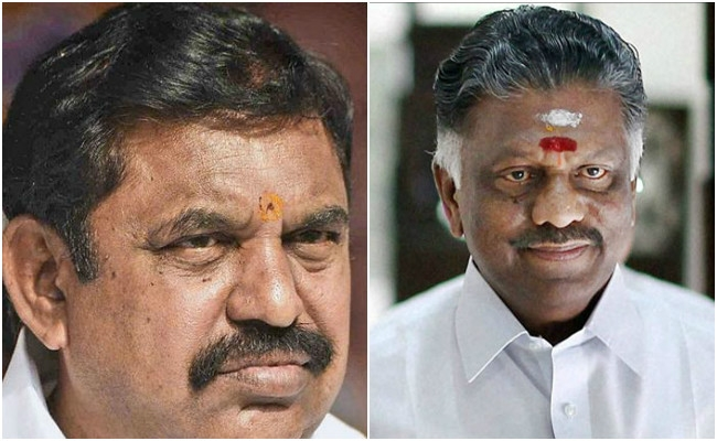 K Palaniswamy, O Panneerselvam met Governor C Vidyasagar Rao, urged to form Govt soon