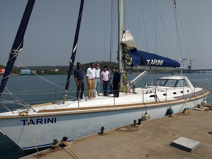 New ocean sailboat INSV Tarini to be inducted into Navy