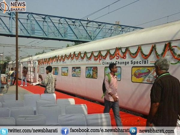 Science Express Climate Action Special train to raise awareness on climate change flagged off
