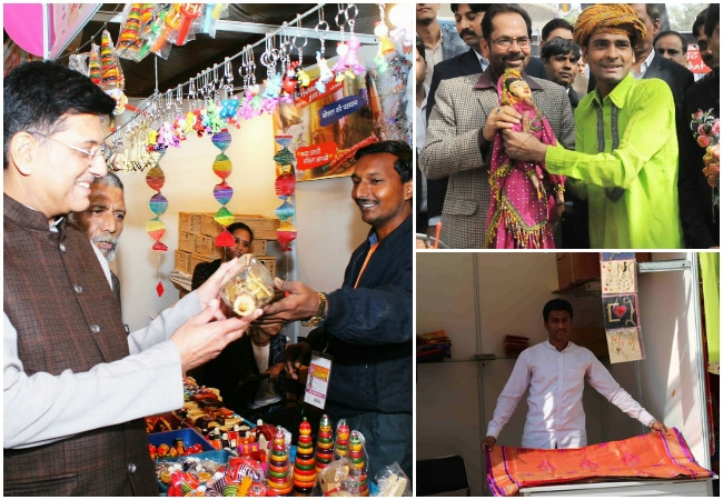 Facebook page of Hunar Haat launched to promote art and skills of artisans from minor community