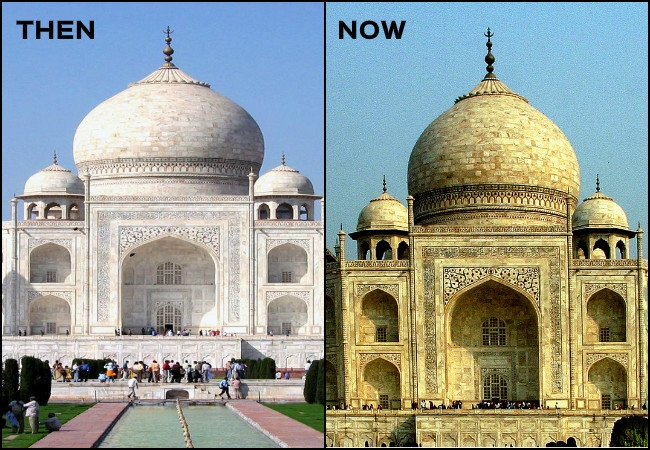 NGT slams UP Govt with penalty on yellowing of Taj Mahal due to burning of urban solid waste