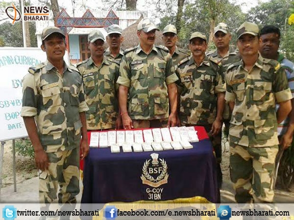 BSF seized 96,000 Rs fake Indian currency near Indo-Bangla border