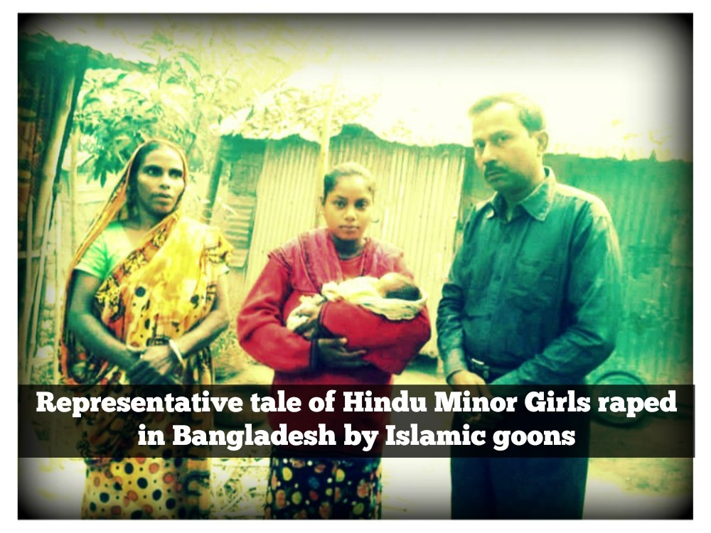 Pinki's Story: Representative tale of Hindu Minor Girls raped in Bangladesh