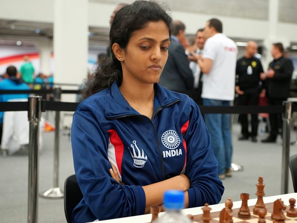 Dronavalli Harika enters into the Quarterfinals of World Women's Chess Championship