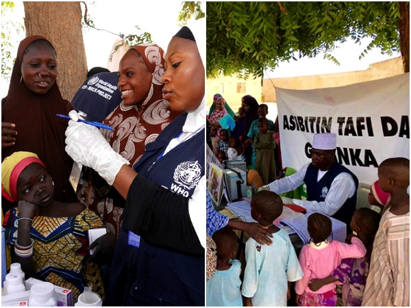 WHO deploys 'hard-to-reach' team in the remote areas of Nigeria by setting mobile clinics