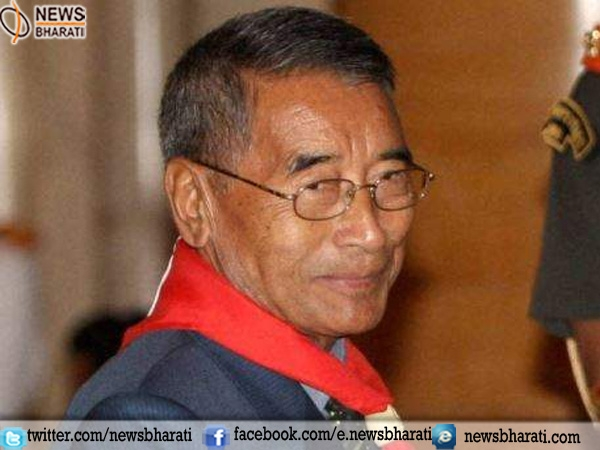 Shurhozelie Liezietsu sworn in as new Chief Minister of Nagaland