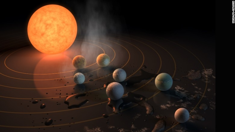 NASA releases a target pixel video of TRAPPIST-1 system