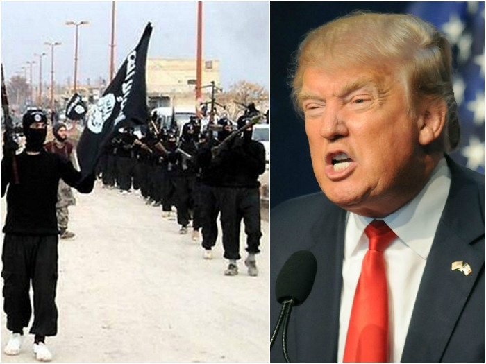 US President Trump vows to eradicate the evil ISIS from the face of earth