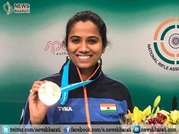 ISSF World Cup: Indian shooter Pooja Ghatkar secures bronze in 10m air rifle event