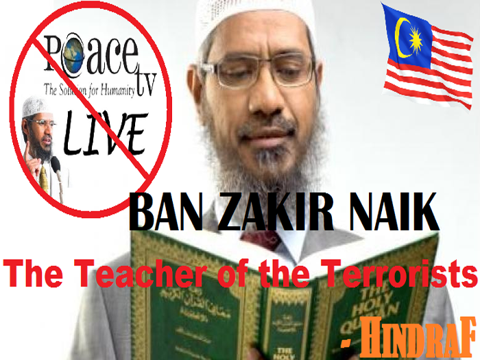 Hindraf leader seeks action against Dr Zakir Naik, gives 21-page 'proof' to PM