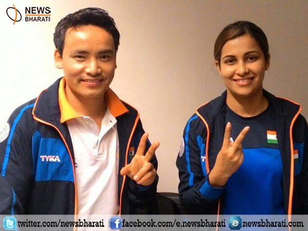 ISSF World Cup: Indian shooters Jitu Rai, Heena Sidhu clinches gold medal in 10m pistol mixed event