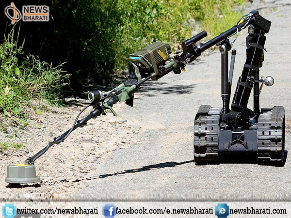 CRPF to use Specialised robots to detect IEDs and landmines in Naxal areas