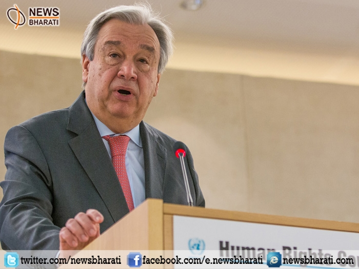 Guterres urged members to uphold the rights of all people in face of rising populism, extremism