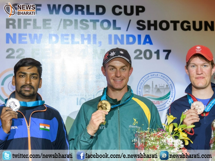 ISSF World Cup: Indian shooter Ankur Mittal secures Silver in Men's Double trap event