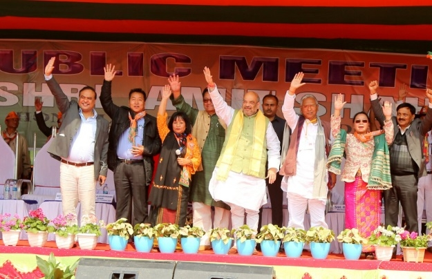 BJP  will make Manipur a model state : BJP President Amit Shah