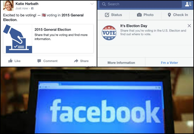'Polling Day Reminder', 'Share your Vote' buttons on Facebook to boost voting in assembly elections