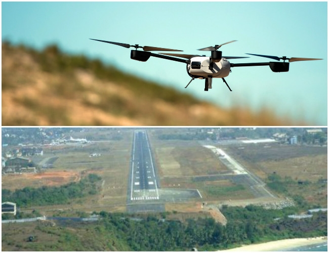 Goa bans drones to secure the launching of remotely piloted vehicles and abandoned airstrips