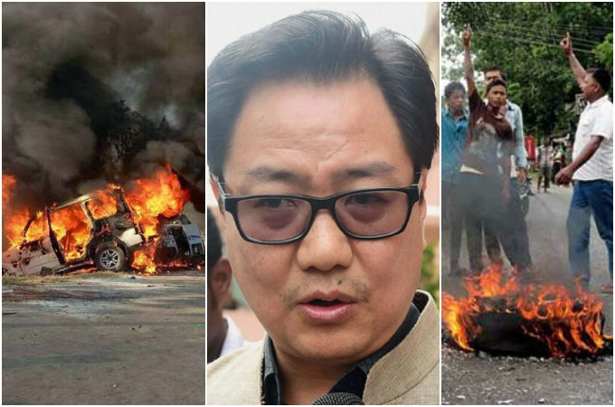 #NagalandViolence: Kiren Rijiju urged protestors to make peace with the Govt